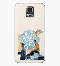 and so the adventure begins Case/Skin for Samsung Galaxy