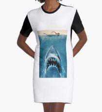 Jaws Graphic T-Shirt Dress