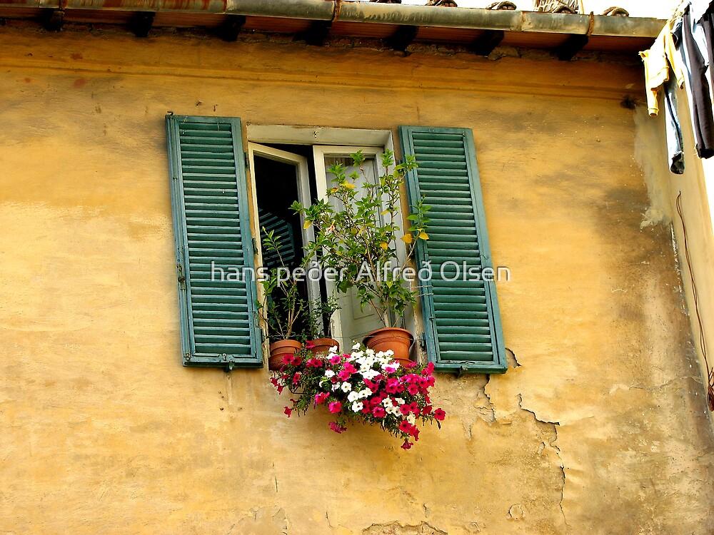 Tuscan window by hans peðer alfreð olsen
