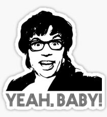 Austin Powers - Yeah baby! Sticker