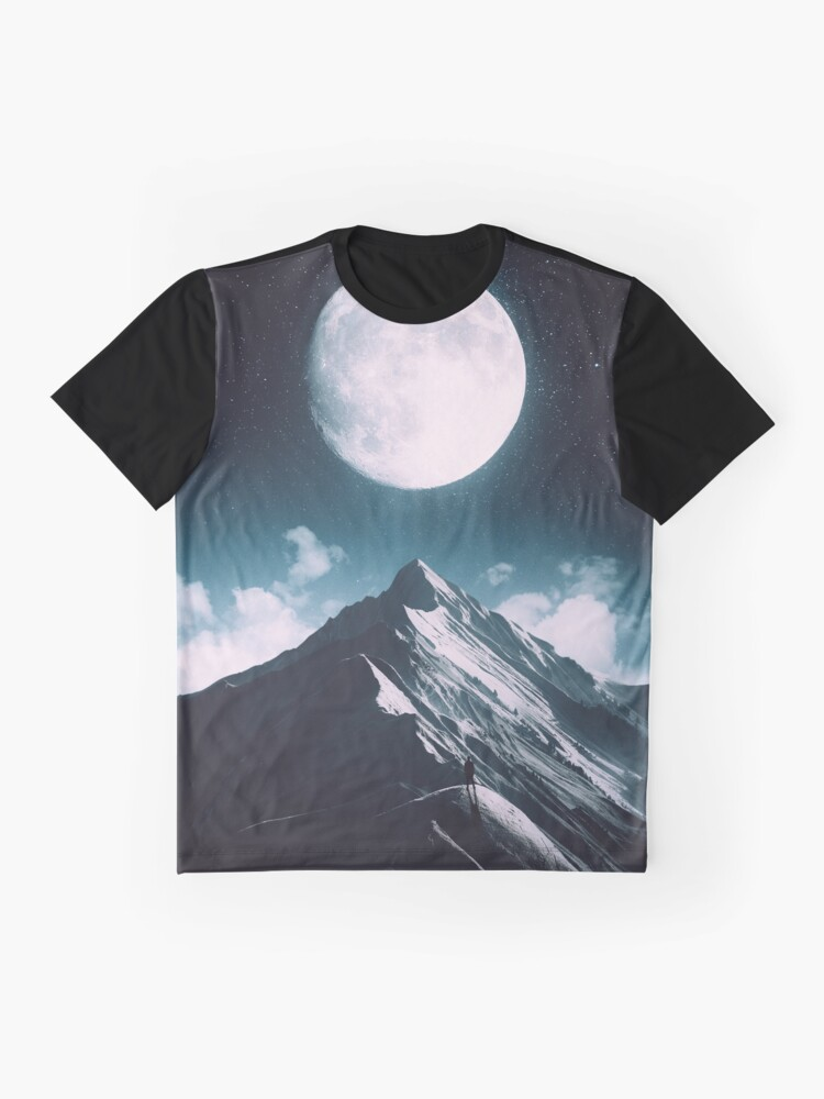 Alternate view of New Moon Graphic T-Shirt
