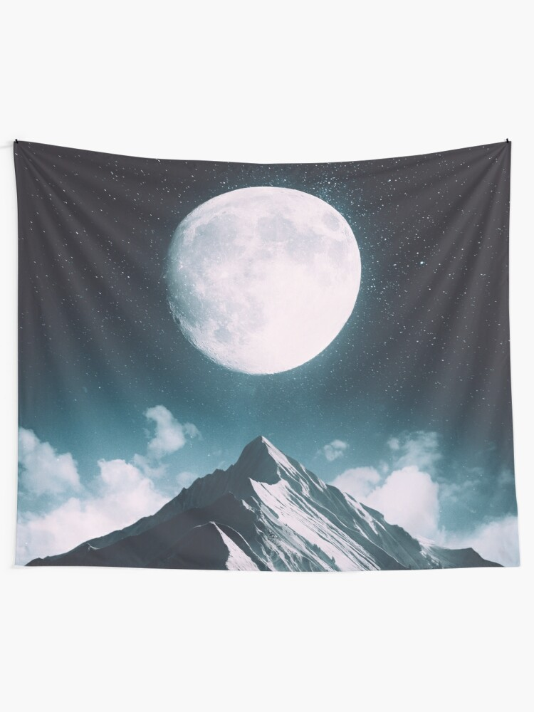 Alternate view of New Moon Wall Tapestry
