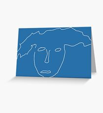 Nathan for You Finding Frances Sketch (No Text) Greeting Card