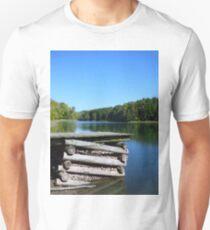 New Concord Reservoir Dock T-Shirt
