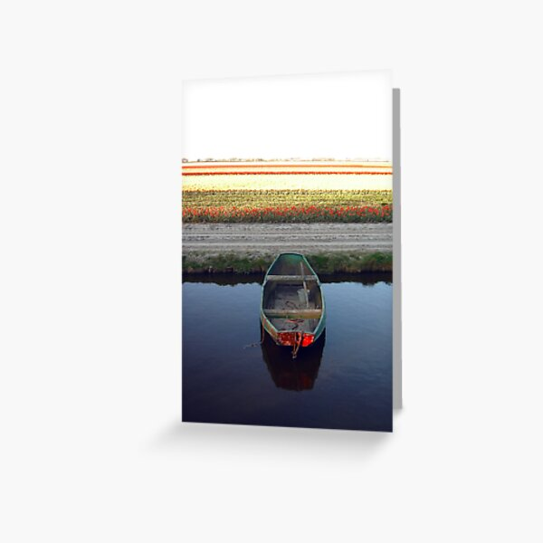 Keukenhof  Serie - Sailing to... Greeting Card