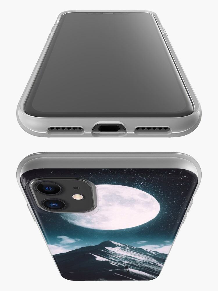 Alternate view of New Moon iPhone Case & Cover