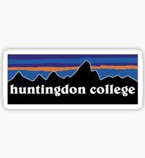 huntingdon college Sticker