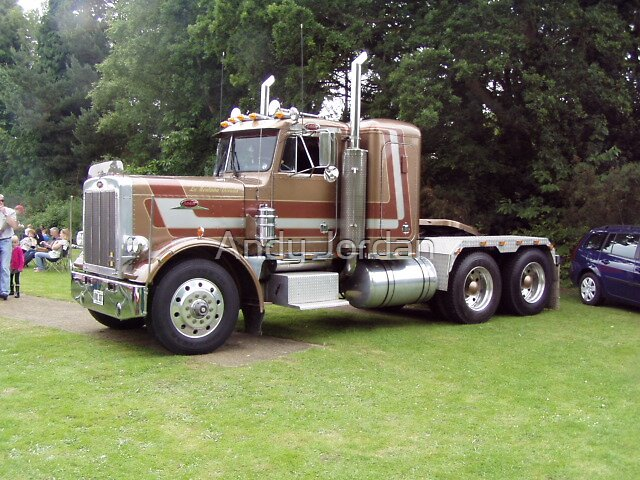 Peterbuilt truck by Andy Jordan