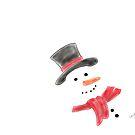 Happy Snowman by LauraMuirhead