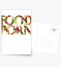 FOOD PORN Postcards