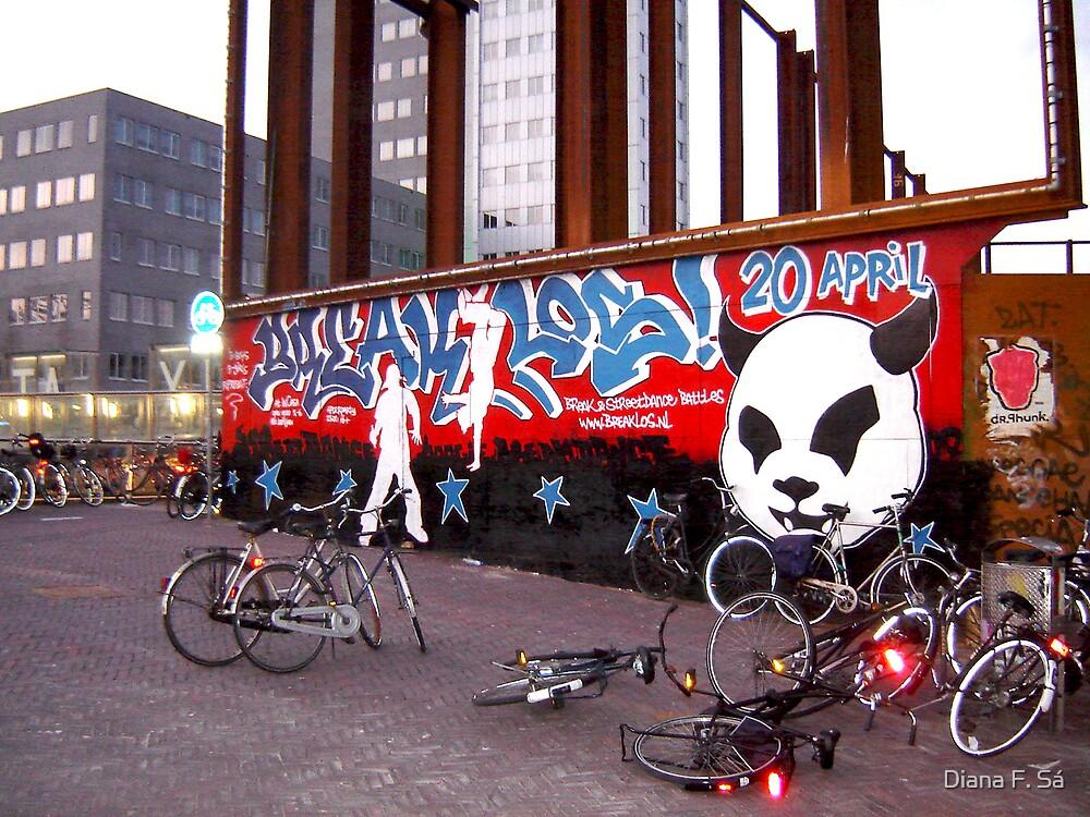 Street Art @ Leiden by Diana F. Sá