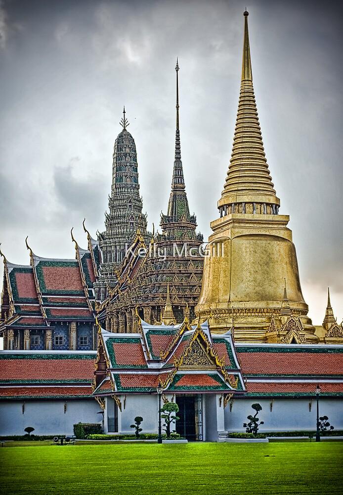 Grand Palace, Bangkok by Kelly McGill