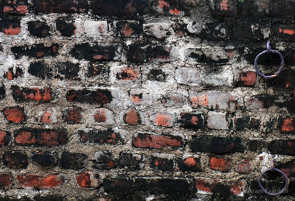 Just another brick in the wall by Vikram Franklin