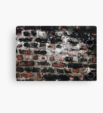 Just another brick in the wall Canvas Print
