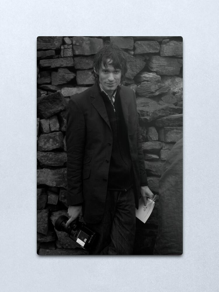 Alternate view of Andrew as Filmmaker # 2 - Unposed Portrait Metal Print