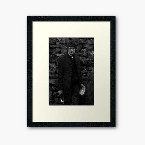 Andrew as Filmmaker # 2 - Unposed Portrait Framed Art Print