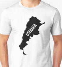 Ushuaia, Argentina Silhouette Unisex T-Shirt
