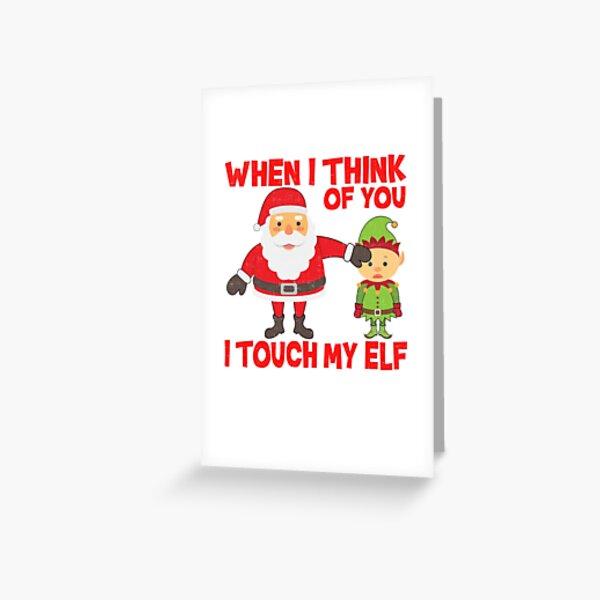 MERRY CHRISTMAS CARD FUNNY BEST BOSS EVER RUDE JOKE HUMOUR COMEDY SANTA PAPER