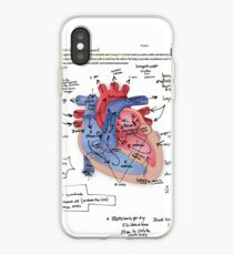 Heart Notes iPhone Case
