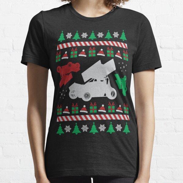 Sprint Car Ugly Christmas Essential T-Shirt