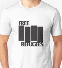 FREE REFUGEES FLAG Unisex T-Shirt