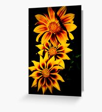 Fabulous Yellow Flower Greeting Card