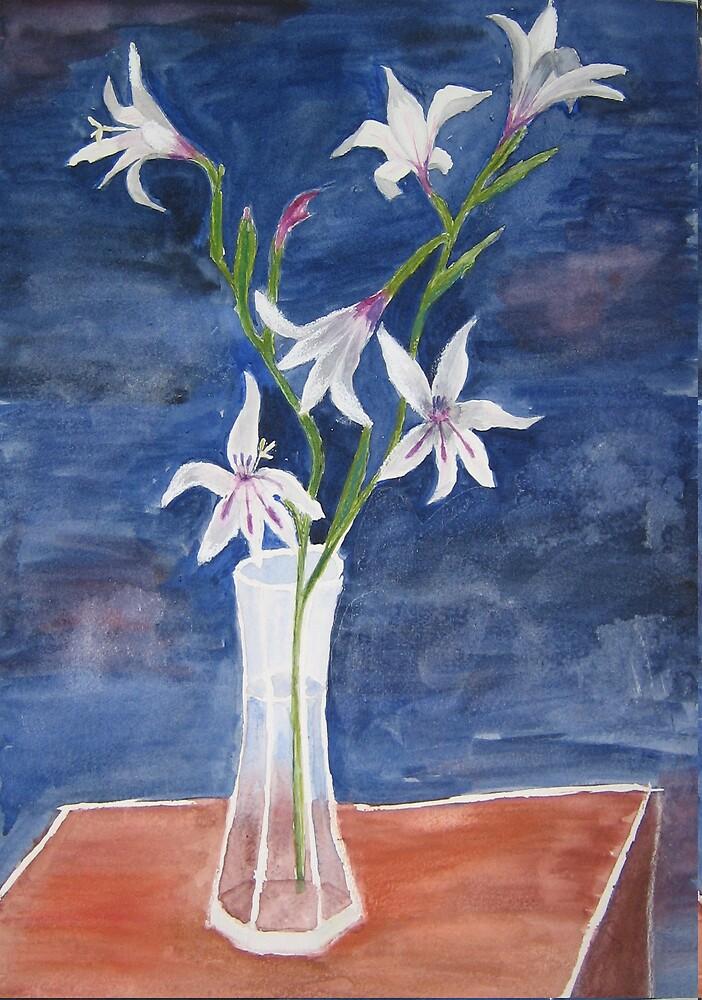 Minature gladioli by ValM