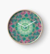 Watercolor Clock