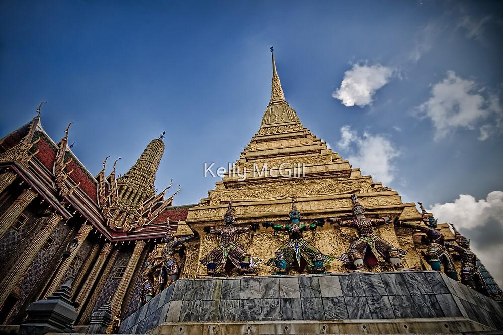 Grand Palace Complex, Bangkok by Kelly McGill