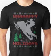 Snowmobile Ugly Christmas T-Shirt
