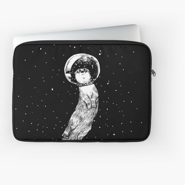 Drifting in Otter Space (best for color) Laptop Sleeve