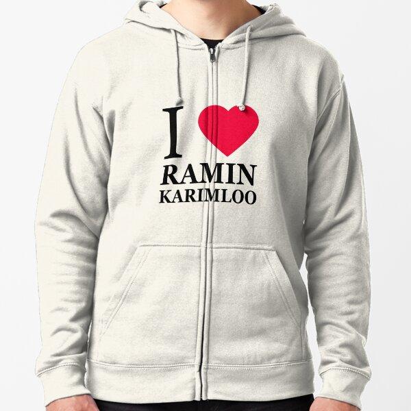I love Ramin Karimloo (1) Zipped Hoodie