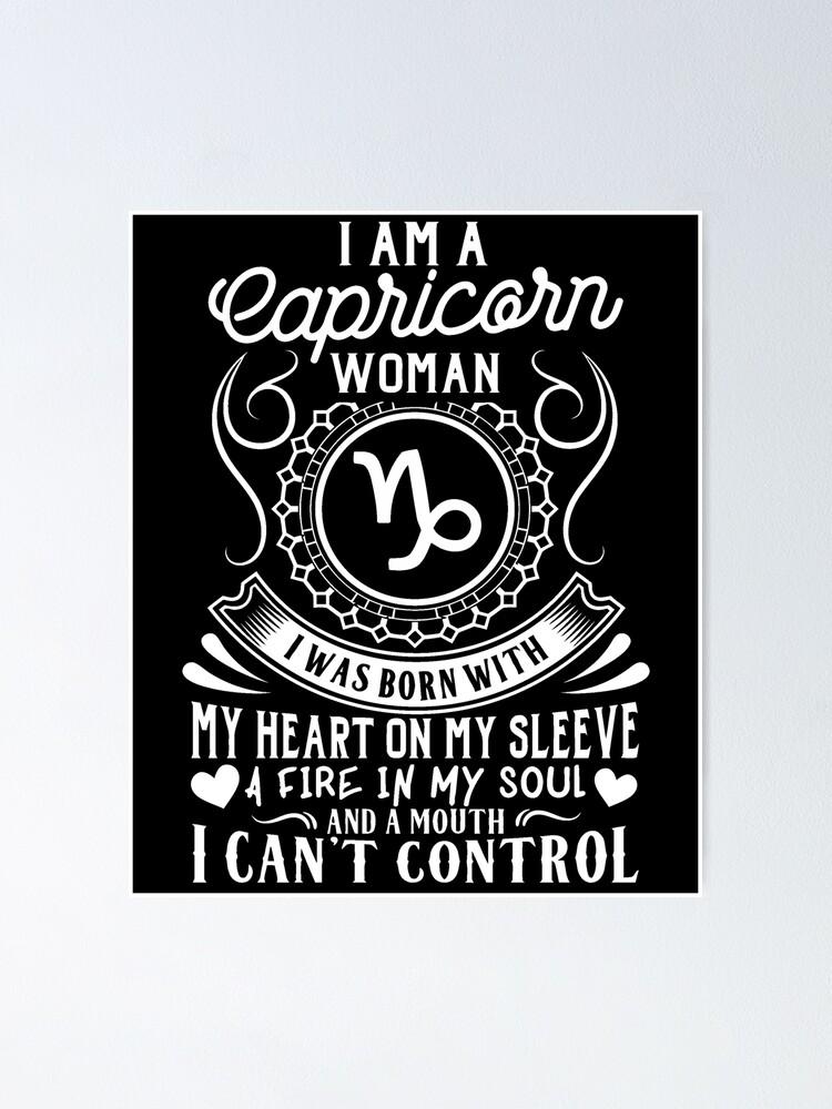 I am a capricorn woman
