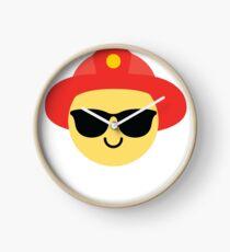 Fireman Emoji   Clock