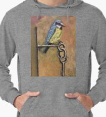Bird on Keys  Lightweight Hoodie