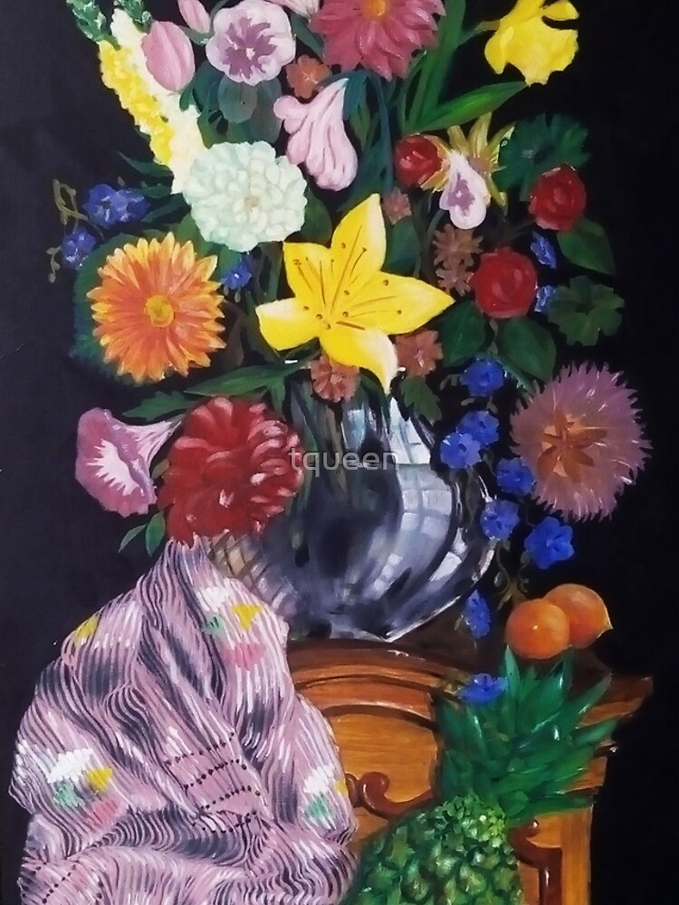 Aso-Oke and flowers- still-life by tqueen