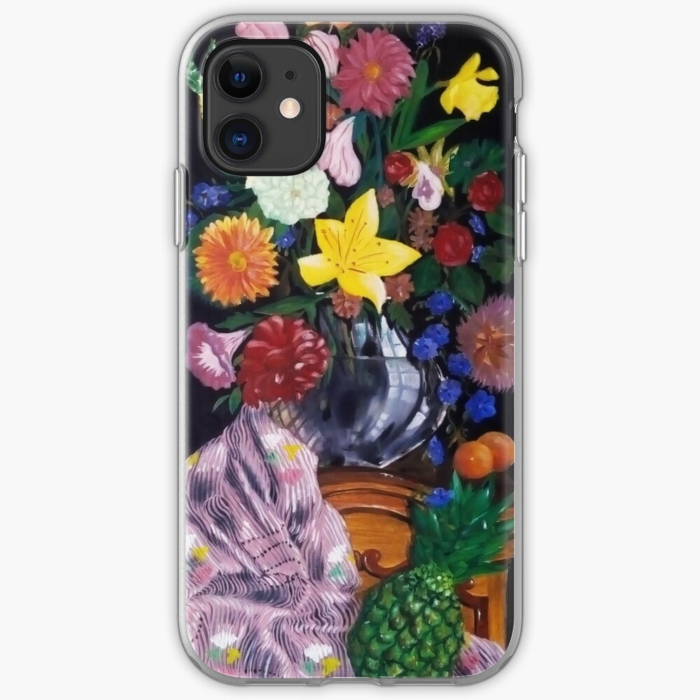 Aso-Oke and flowers- still-life iPhone Case