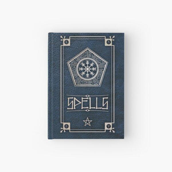 Spellbook in Blue Hardcover Journal