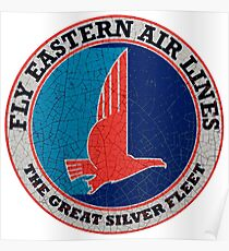 Eastern Airlines Great Silver fleet Poster