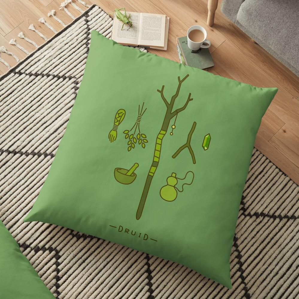 The Druid Floor Pillow