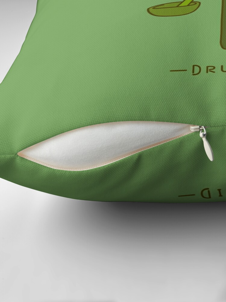 Alternate view of The Druid Floor Pillow