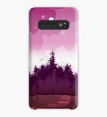 lesbian pride forest Case/Skin for Samsung Galaxy