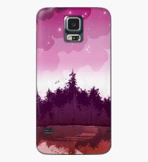 lesbischer Stolzwald Hülle & Klebefolie für Samsung Galaxy