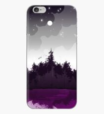 asexual pride forest iPhone Case