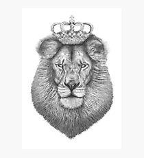 Lámina fotográfica El rey
