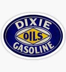 Dixie Oil and Gas Sticker