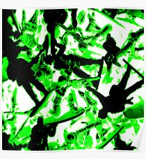 Toy Soldiers (abstract) Poster