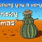 Prickly Xmas by Elena Leong
