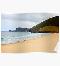 Beach Headland Poster