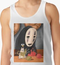 Spirited Away - Boh and No Face Knitting Tank Top